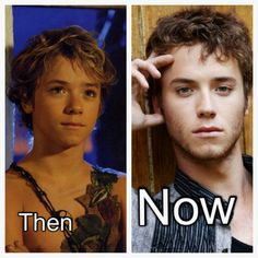 Jeremy Sumpter. Peter Pan is all grown up.<3<3 I kept trying to tell everyone I wasn't crazy lol