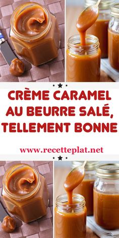 Discover recipes, home ideas, style inspiration and other ideas to try. Apple Desserts, Sweet Desserts, Delicious Desserts, Dessert Recipes, Creme Caramel, Salted Caramel Sauce, Creative Desserts, Caramel Recipes, Gourmet