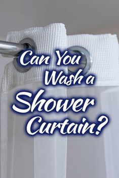 Can You Wash A Shower Curtain? Article by HomeDecorBliss.com #HDB #HomeDecorBliss #homedecor #homedecorideas