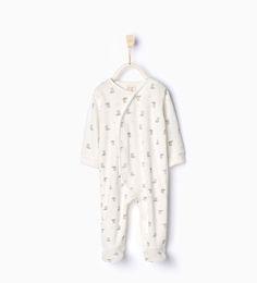 Little fox pyjamas - Bodies, pyjamas and bibs - Baby girl | 3 months - 4 years - KIDS | ZARA United Kingdom