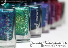 The Nail Polish Challenge: Femme Fatale Cosmetics: New Releases for 2015