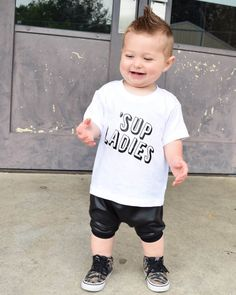 baby boy clothes ladies man shirt sup ladies trendy by Our5loves