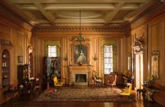 E-7: English Drawing Room of the Early Georgian Period, 1730s | The Art Institute of Chicago