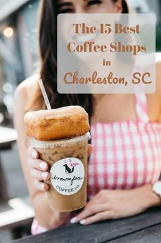 The 15 Best Coffee Shops in Charleston - By, Hilary Rose Best Coffee Shop, Great Coffee, Coffee Shops, Coffee Ideas, Coffee Town, Coffee Life, Coffee Bars, Charleston South Carolina, Charleston Food