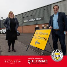 ST MIRREN FLU CENTRE OPENS The Renfrewshire Health & Social Care Partnership (HSCP) has opened a flu vaccination centre at St Mirren Park for those in Renfrewshire eligible for the flu vaccination. The flu centre is located in the West Stand with access available at Drums Avenue gate.