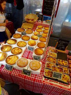 Tartes Fondant, Paris Markets, Waffles, Breakfast, Food, Cherry Clafoutis, Pies, Eat, Breakfast Cafe