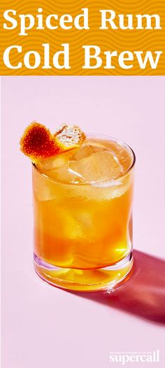 Spiked with cold brew coffee and spiced rum, the drink gets its tiki ...