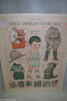 Magazine Paperdolls Dolly Dingle Pictorial Rev 3 29 | eBay