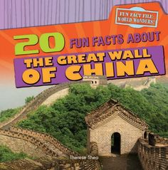 20 fun facts about The Great Wall of China by Therese Shea 931 SHE The Great Wall of China has been an important symbol of Chinese culture for centuries. While it once served as a form of protection from enemies, today the Great Wall is one of the world's most thrilling ancient tourist attractions. The informative text is paired with vivid photographs of the different sections of the wall, as well as helpful illustrations and graphic organizers.