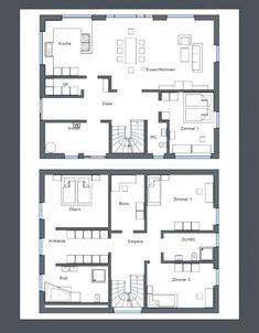 The Woodhouse, House Layouts, House Goals, Modern House Design, Exterior Design, Bungalow, Mudroom, Architecture Design, Floor Plans