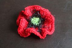 5000 Poppies Easy Crochet Pattern
