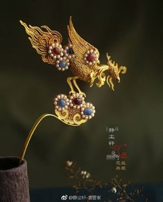 Gold Wedding Crowns, Hairpin, Jade, Jewelery, Asia, Hair Accessories, Hair Styles, Makeup, Fashion