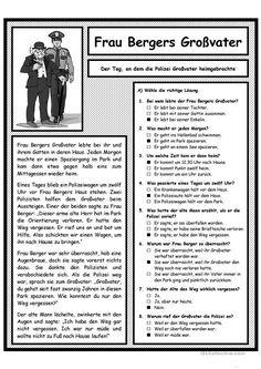 Ο παππούς της κας Berger και η αστυνομία
