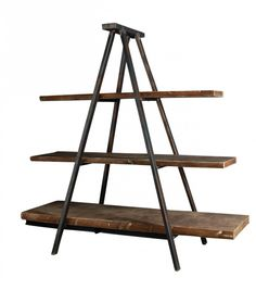 Industrial Tripod Bookcase - Shelving Units and Libraries | Interiors Online - Furniture Online & Decorating Accessories