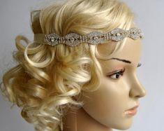Diadema de diamantes de imitación gran Gatsby por BlueSkyHorizons