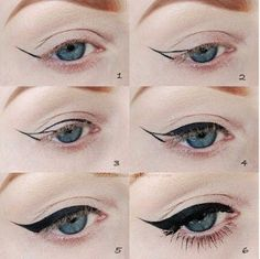 OFASHIONEXPRESS: WINGED EYELINER WITH JUST A PENCIL #BEAUTYDIARY