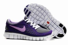 Nike Free Run Black Gray Red For Women $59.00