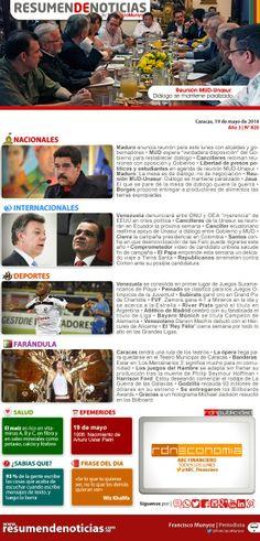 Resumen de Noticias: Lunes | 19/05/2014