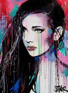 "Saatchi Art Artist LOUI JOVER; Painting, ""remains"" #art"