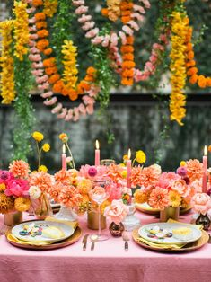 Hold up, this living coral Pantone 2019  wedding inspiration took place in NYC? Marigolds, acacia and milk glass aplenty, this editorial celebrates all the best things about couples who love color. Not to mention floral installations! #ruffledblog