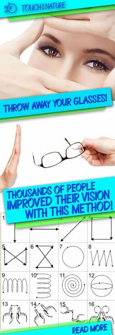 Throw Away Your Glasses! Thousands Of People Improved Their Vision With This Method! – Touch Of The Nature