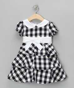Take a look at this Navy & White Bella Dress - Infant, Toddler & Girls by Joe-Ella on #zulily today!