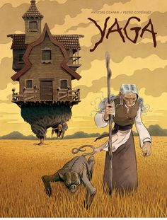 Baba Yaga, Comic Kunst, Comic Art, Comic Books, Fantasy Kunst, Fantasy Art, Art And Illustration, Illustrations Posters, Character Inspiration