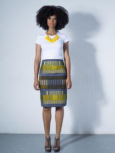 Thandi pencil skirt by Tatusi