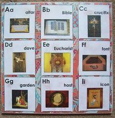 Catholic ABC Cards