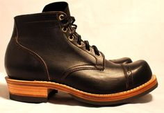 ServiceBoot – SampleOnly Horsehide, dead stock half sole, nailed down