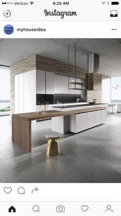 Luxury Kitchen 30 Awesome Black And White Wood Kitchen Design Ideas Home Kitchens, Kitchen Remodel, Luxury Kitchens, Kitchen Design, Kitchen Inspirations, Best Kitchen Designs, White Wood Kitchens, Kitchen Interior, Kitchen Inspiration Modern