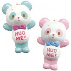 Domiel Hug Me! Panda Squishy  (◕ᴥ◕) Kawaii Panda - Making Life Cute
