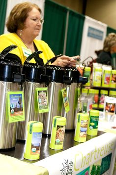 Chartreuse Herbal Tea