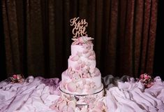 Colette & John's Little Mermaid Disney Cruise Wedding cake!