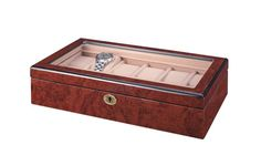 Mahogany Large Watch Display Box