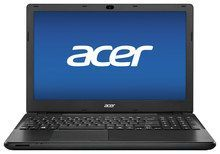 "Acer - TravelMate 15.6"" Laptop - Intel Pentium - 4GB Memory - 500GB Hard Drive - Black"