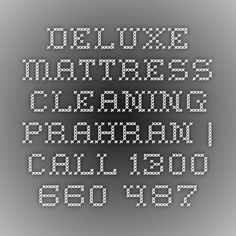 Deluxe Mattress Cleaning Prahran | Call 1300 660 487