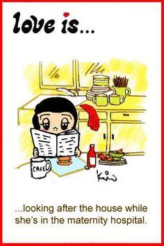 love is… house-sitter « Love is… Comics by Kim Casali