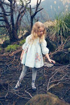 Clover Dress in Frosty Breeze by Nellystella