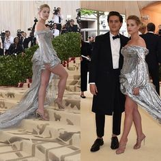 Lili and Cole at #MetBall2018