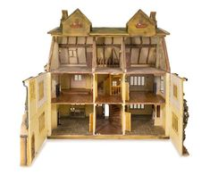 * A Cotswolds Style Manor House, Height 44 x width 51 x depth 26 1/2 inches
