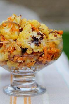 Roasted Cauliflower Tahini Salad by Daily Garnish