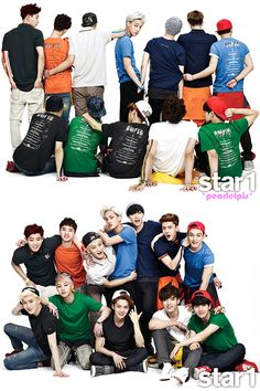 EXO - @Star1 Magazine - group