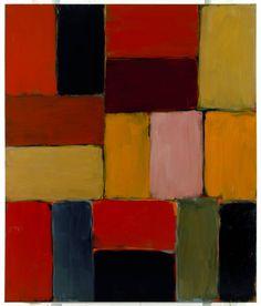 Sean Scully, Beckett, 2006,huile sur toile, 214 x 182 cm (ADAGP PARIS, 2011).