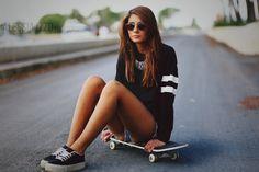 Skater Girl by Alessia-Izzo.deviantart.com on @deviantART