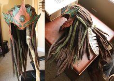 Wood Elf Headdress v02 - WIP by Shendorion.deviantart.com on @DeviantArt