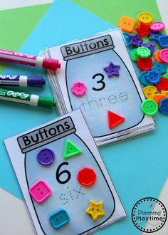 Fun Counting Activities for Kindergarten or Preschool.