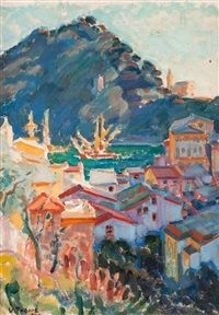 View from Portofino by Verner Thomé