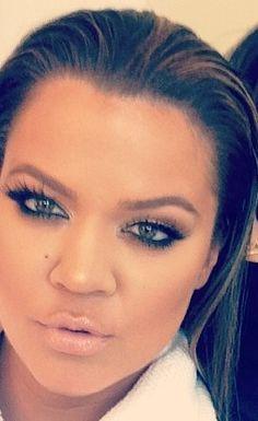 Khloe kardashian #makeup