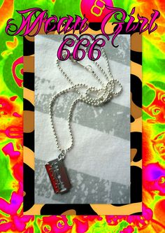 Mean Girl 666 Accessories Unique Handmade Accessories for Good & Bad Girls!!! @ Clockwork Store Baixa Chiado LISBOA www.clockworkstor... www.facebook.com/...